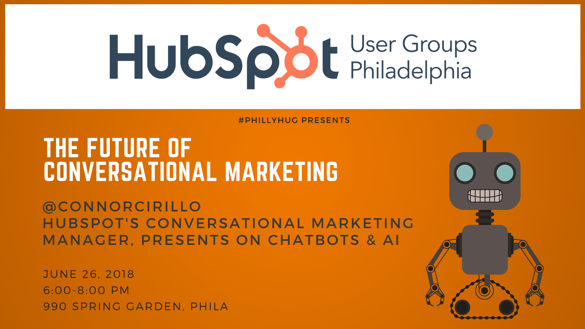 Philly HUG: The Future of Conversational Marketing with chatbots and AI