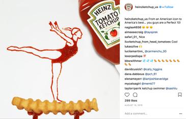 Heinz Ketchup Instagram